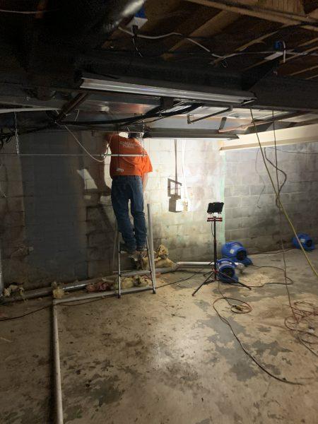 Removing insulation