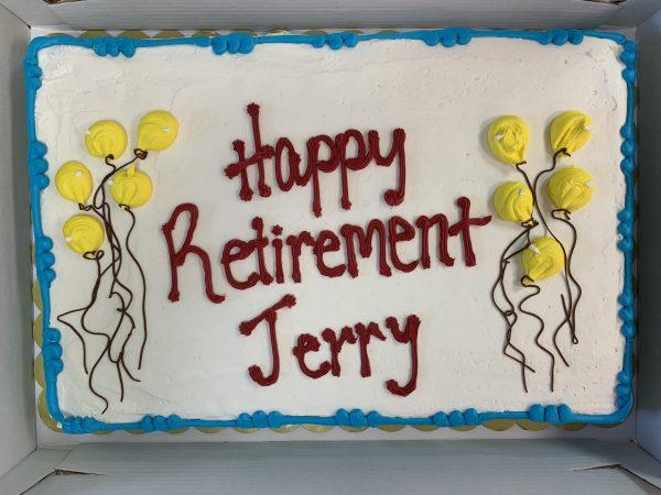 Jerry's Retirement Cake