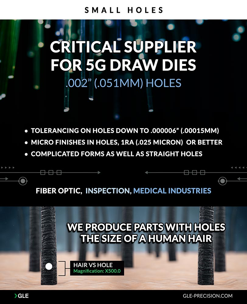 We Offer Precision Lapping Services: 5G Draw Dies