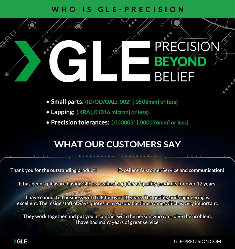 Who is GLE? Precision Lapping Services